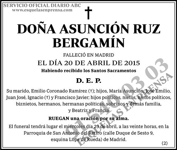 Asunción Ruz Bergamín
